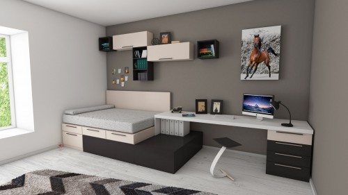 White-and-Black-desk-beside-bed-and-window.jpg