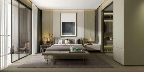 gray-bed-in-bedroom-and-grey-and-white-color-wall.jpg