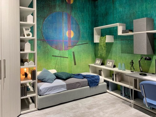 green-painted-room-with-whie-wooden-shelf-inside-living-room.jpg